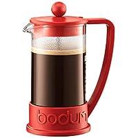 BODUM ボダム BRAZIL ブラジル フレンチプレス コーヒーメーカー 350ml レッド 【正規品】 10948-294J