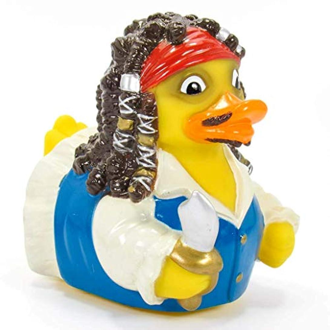 オーストラリア人言語学円形CelebriDucks Captain Quack Pirate?of Quackibbean Bath Toy [並行輸入品]