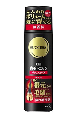 サクセス 薬用育毛トニック ボリュームケア 無香料 [医薬部...