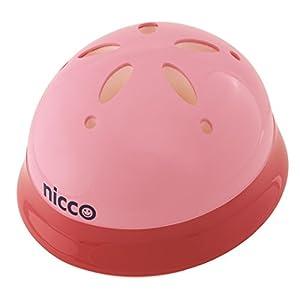 クミカ工業 Nicco ヘルメット KH002L/ベビー用/47-52cm/SG/日本製/ハードシェル ピンク