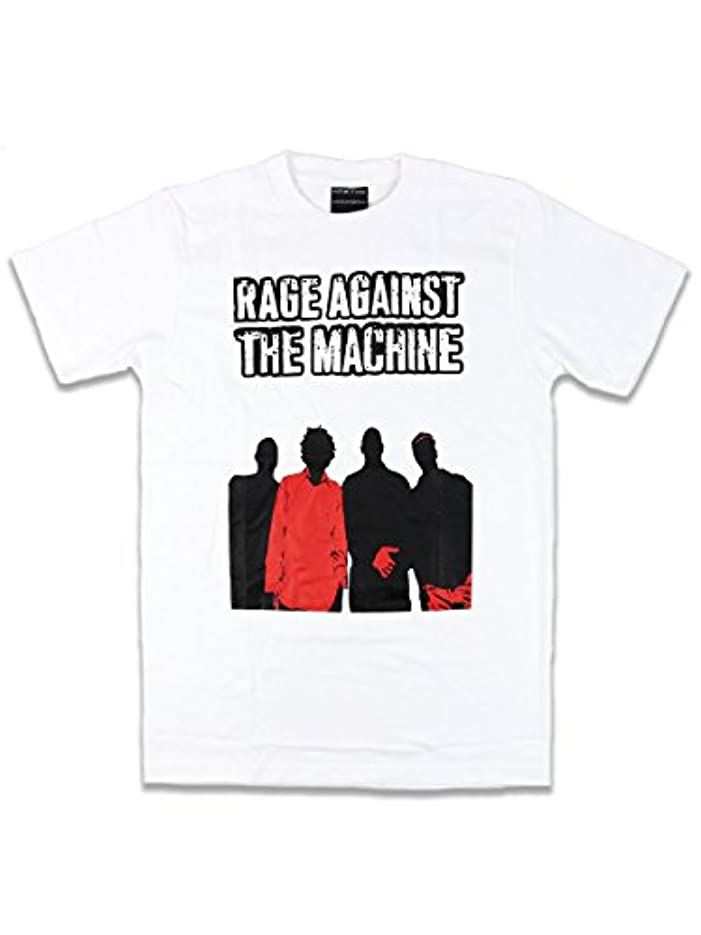 唇垂直洞窟【ノーブランド品】バンドTシャツ ロックTシャツ Rage Against the Machine レイジ アゲインスト ザ マシーン