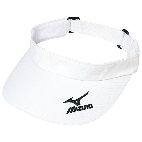 (ミズノ)MIZUNO テニスウェア バイザー [WOMEN'S] 62JW4300 01 ホワイト F -