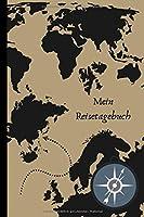 """Mein Reisetagebuch: Dein Reisetagebuch zum selber ausfuellen. Packliste,Budgetplanner, Bugetlist,Highlights und vielem mehr um deine Reise unvergesslich zu machen. Das ideale Geschenk fuer alle Abenteuerinnen  - 110 Seiten 6""""x9"""" Notizbuch"""