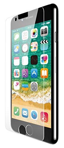 iPhone8フィルム 防指紋 光沢 PM-A17MFLFTG 1枚