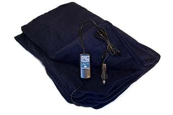 車内用電気ブランケット Car Cozy2 ネイビー