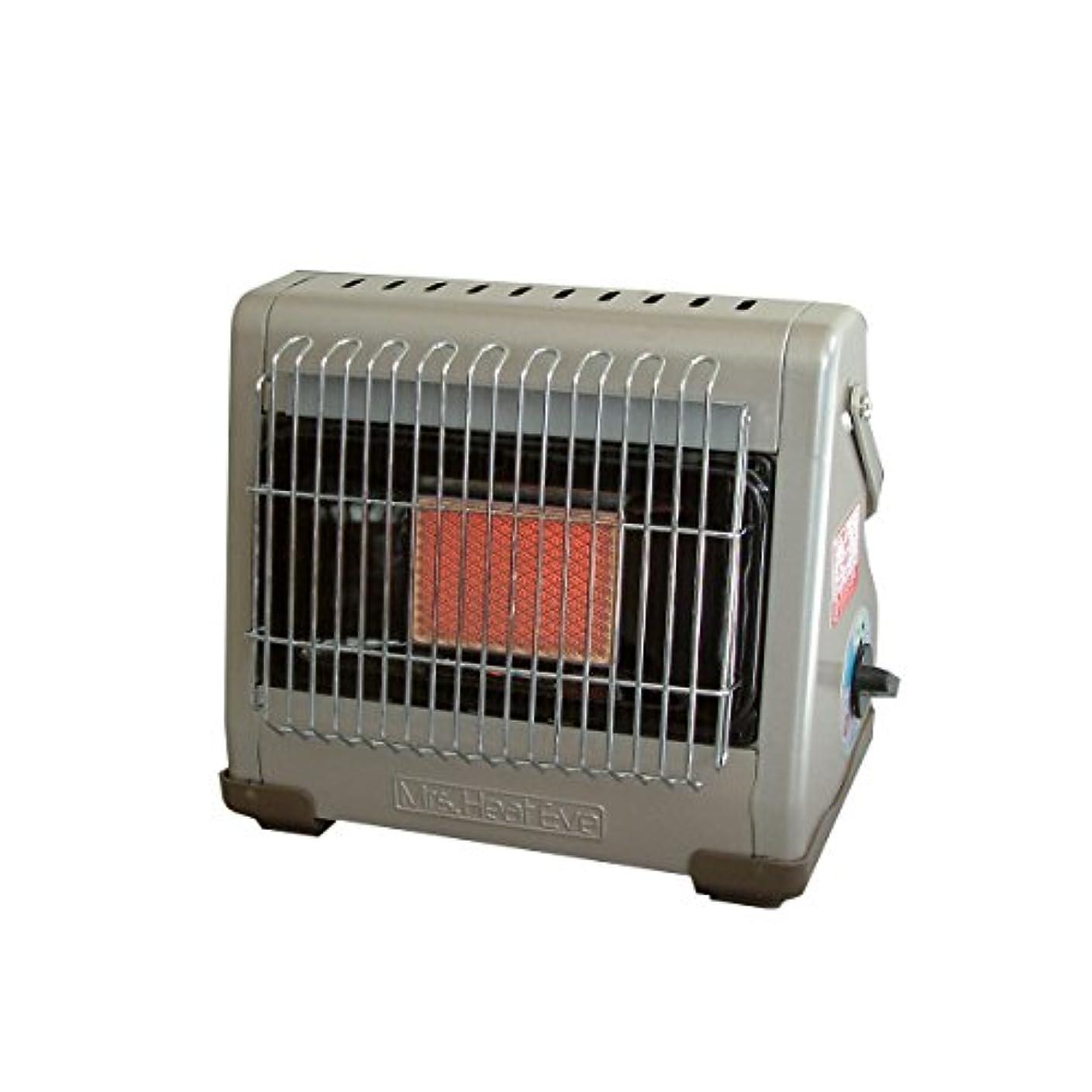 ギャラリーコークス貫通するNITINEN(ニチネン) カセットボンベ式ガスヒーター ミセスヒート イヴ(屋内専用) KH-013