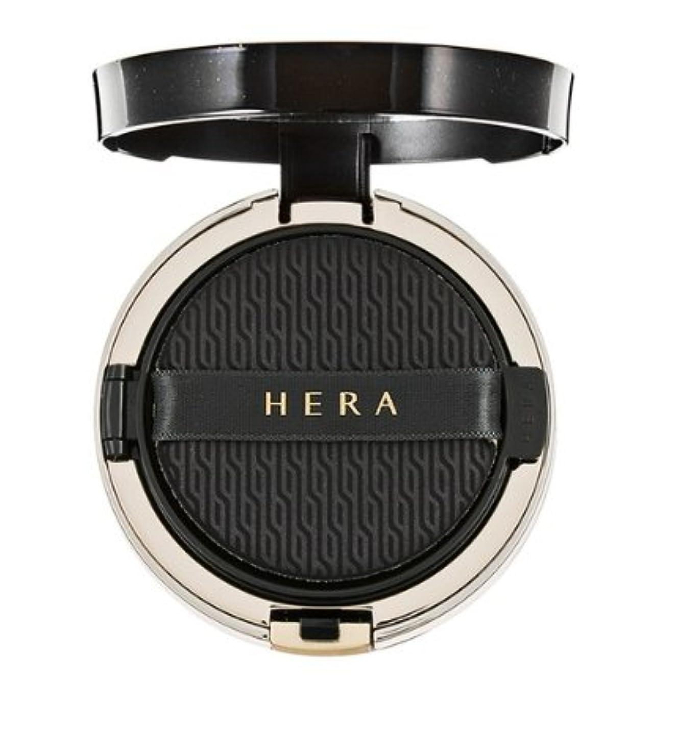 施設松の木海(ヘラ) Hera ブラッククッション SPF34/PA++ 本品15g+リフィール15g / Black Cushion SPF34/PA++ 15g+Refil15g (No.25 ember) (韓国直発送) shumaman