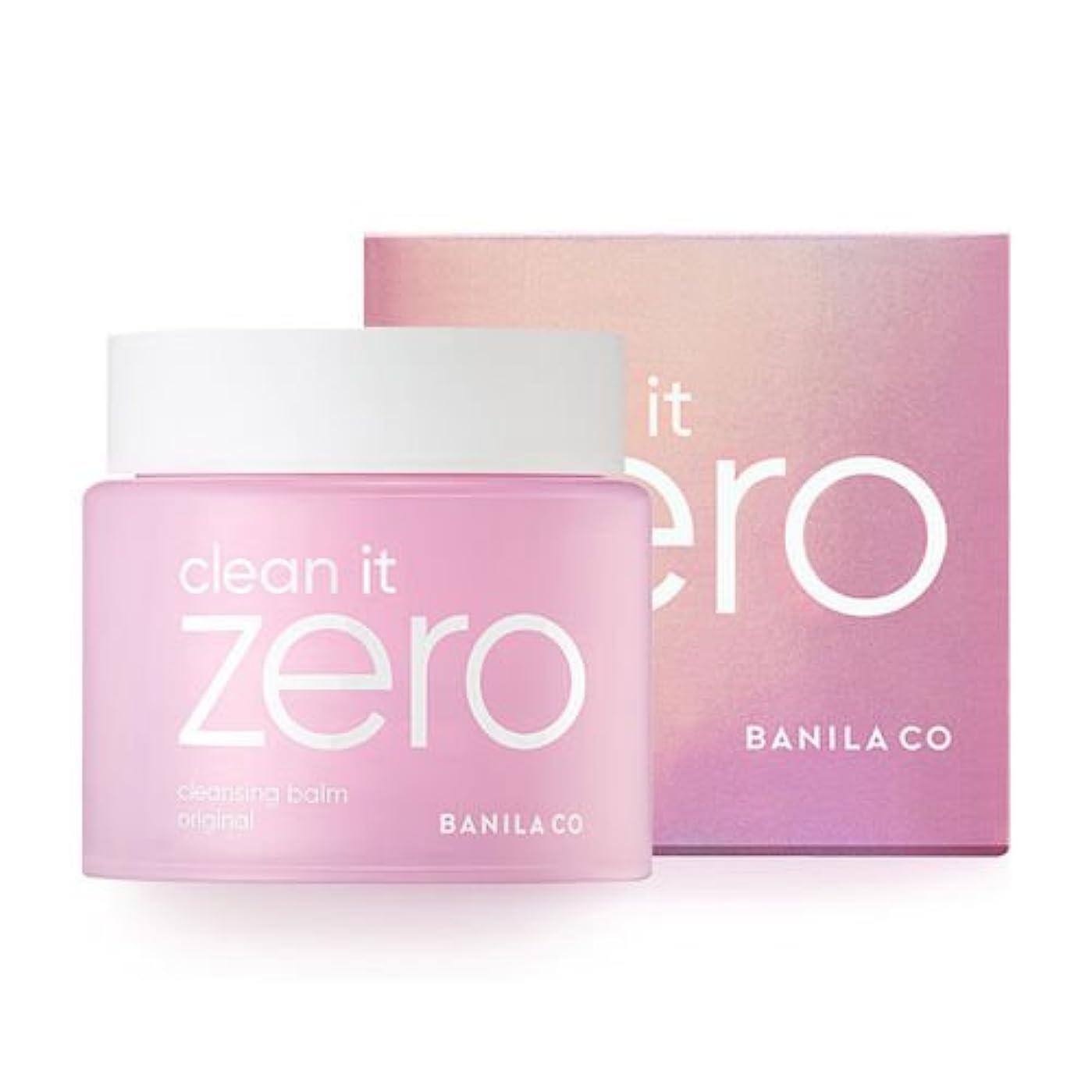 連隊ヶ月目ヘルパー[BANILACO/バニラコ] Clean it zero cleansing balm original 180ml / クリンイットゼロ クレンジングバーム オリジナル 180ml