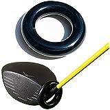PRO-GOLFSHOP ウェイトリング[ゴルフクラブに装着する重り140g] 素振り ストレッチ ウエイト スイング練習用具 ゴルフ