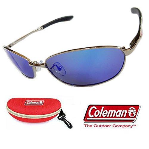 [해외] COLEMAN 콜맨 편광 썬글라스 CO4001-1 적케이스+콜맨 스티커부-CO3008-1+CASE