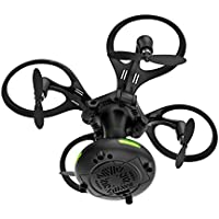 ミニ折り畳み式 ボール状 4軸 ドローン リモートコントロール航空機 子供のヘリコプターのおもちゃ 2.4Ghz 4CH  6軸ジャイロスコープ ワンクリックでのリターン ATSM認証