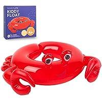 LOWYA(ロウヤ) 浮き輪 SUNNY LIFE キディーフロート カニ Crabby プール 海水浴 子供用 1人乗り 3~6歳