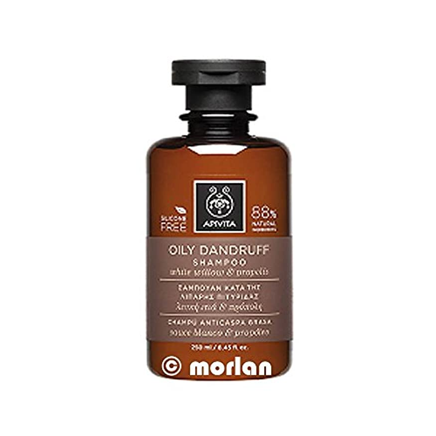 貞倉庫廃止アピヴィータ Oily Dandruff Shampoo with White Willow & Propolis (For Oily Scalp) 250ml [並行輸入品]