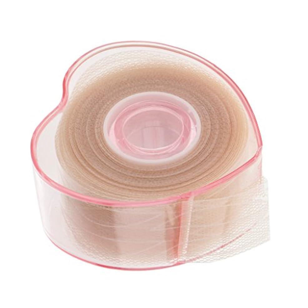組み合わせる多年生副Fenteer まつ毛テープロール 二重まぶたロール 繊維 レース メッシュ リフトストリップ ステッカー 粘着性なし 4タイプ選べる - c
