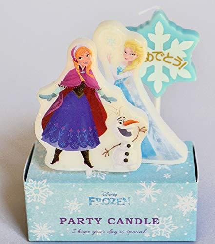 ケーキ用キャンドル ディズニー キャラクター パーティーキャンドル「アナと雪の女王」 バースデーキャンドル アナ エルサ オラフ アナ雪
