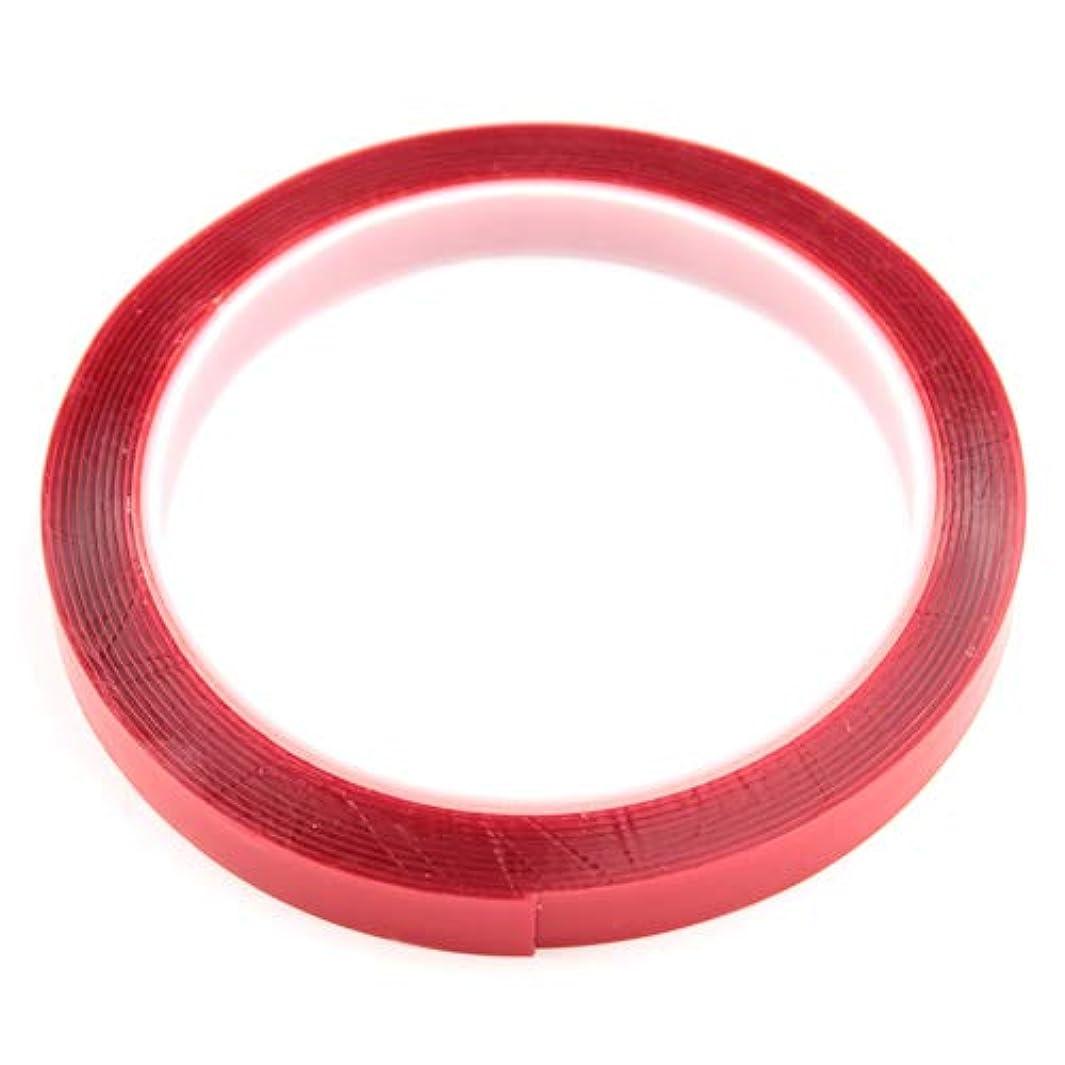 回転するスプレー豊かにするSARURU 強力ネイル用クリア両面テープ 【LEDライト?ネイル用品】