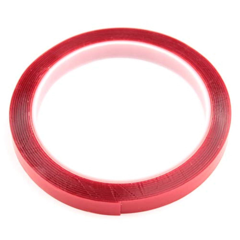 機知に富んだ水銀のウガンダSARURU 強力ネイル用クリア両面テープ 【LEDライト?ネイル用品】