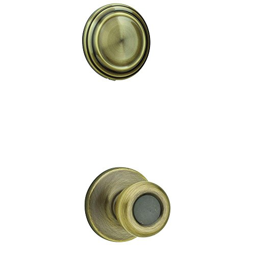Kwikset 606T 5 606T-5 Tylo Antique Brass Interior Pack Handleset