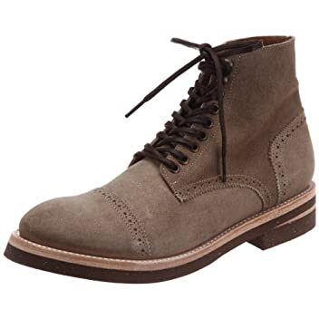 Militaly Cork Sole Boot 128: Beige