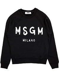 [エムエスジーエム]MSGM 2641 MDM89 195297 FELPA SWEATSHIRT BLACK size S [並行輸入品]