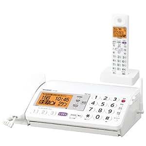 シャープ デジタルコードレスFAX 子機1台付き 1.9GHz DECT準拠方式 ホワイト系 UX-320CL-W