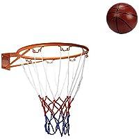 夢旅行Kidsインドアアウトドアバスケットボールフープバスケットボールリム、32 cm/12.6in Include Net and Kidsボール、16 cm/6.3in