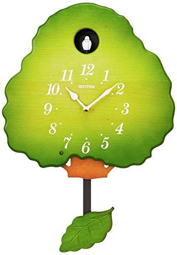 鳩時計 掛け時計 グレースカッコー413R リズム時計 4MJ413RH05