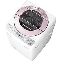 シャープ SHARP 全自動洗濯機 穴なし槽 ピンク系 インバーター搭載 7kg ES-GV7C-P