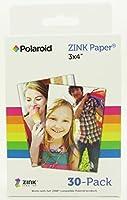 Polaroid ZINK Media 3 x 4 inch Photo Paper for Polaroid Z340 Camera and Polaroid GL10 Printer - Pack of 30