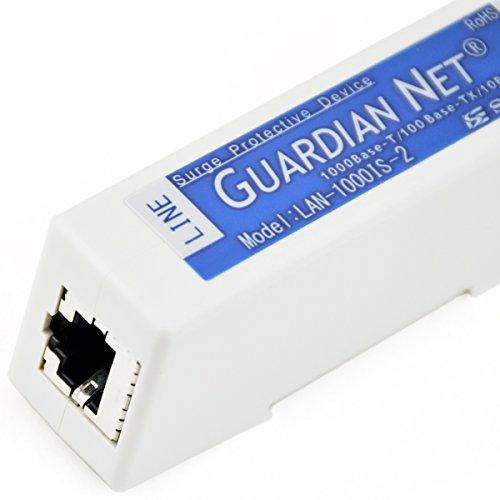 サンコーシヤ LAN-1000IS-2 LAN回線用SPD(避雷器) (1000Base-T用) (アース不要) NN