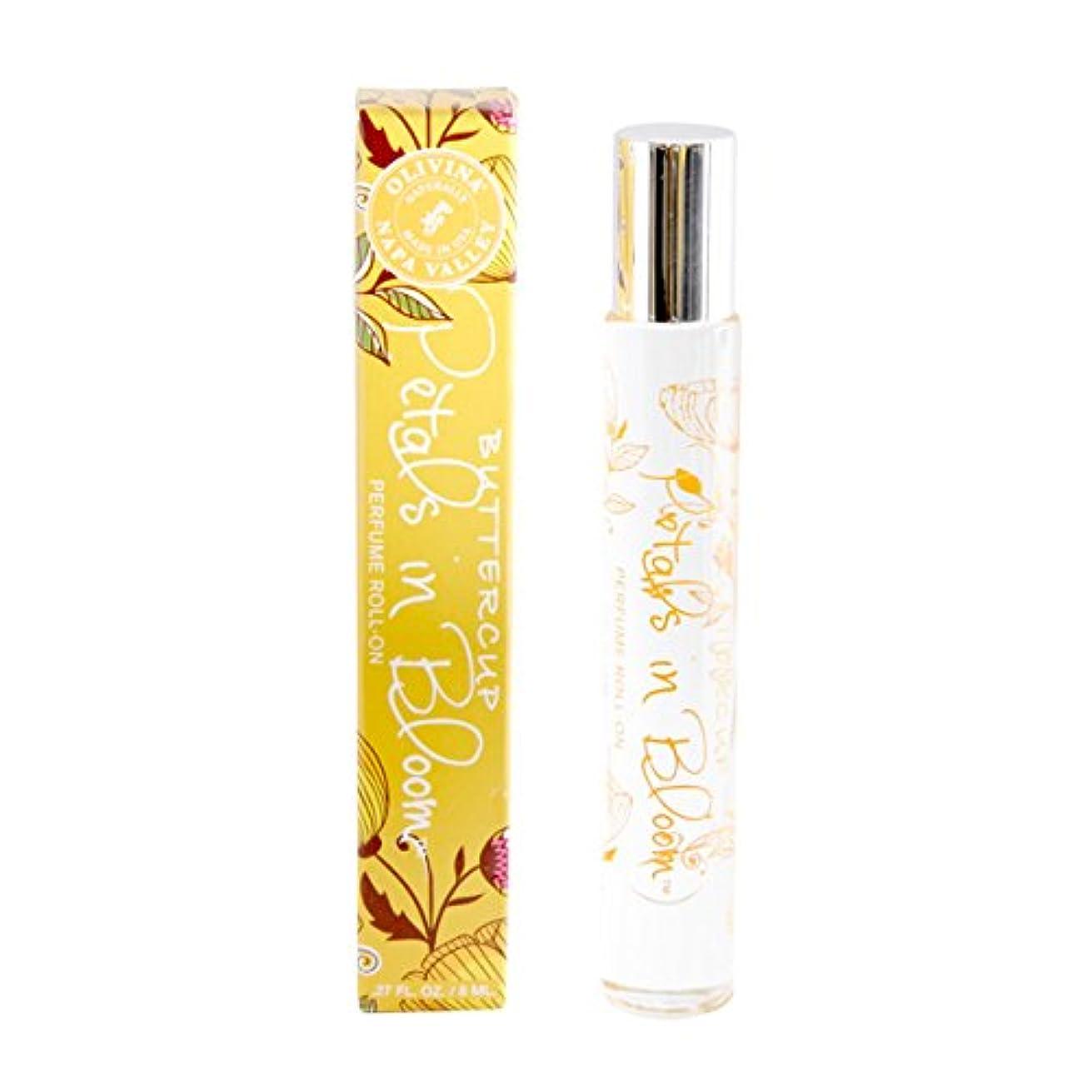 一部コンバーチブル代替Napa Valley Apothecary Petals in Bloom パフューム ロールオン バターカップ perfume roll-on Buttercup ナパバレーアポセカリー ペタルズインブルーム Olivina...