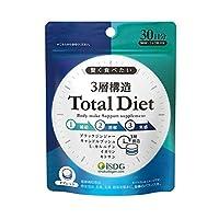 医食同源ドットコム ISDG 3層構造 Total Diet 90粒入 トータル ダイエット×10個セット