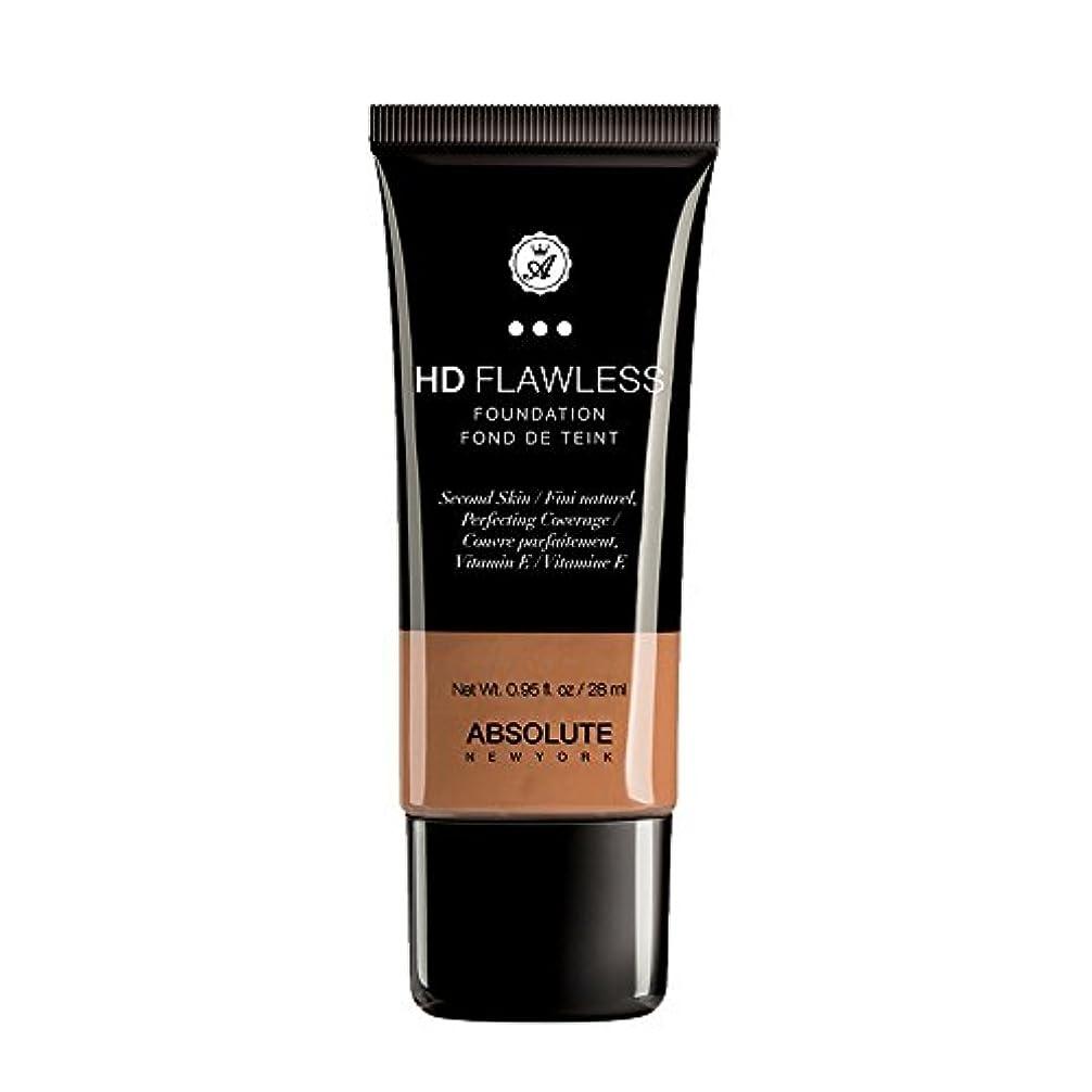 好きである覚えている宣言する(3 Pack) ABSOLUTE HD Flawless Fluid Foundation - Almond (並行輸入品)