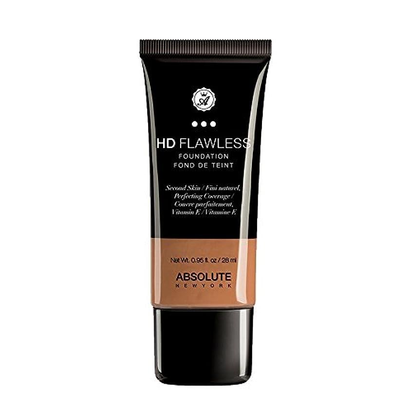 専門用語拒絶権威(3 Pack) ABSOLUTE HD Flawless Fluid Foundation - Almond (並行輸入品)