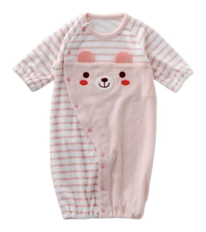 ニシキ P5126 NISHIKI ドレス&カバーオール 50-60cm ピンク?P5126P50-60