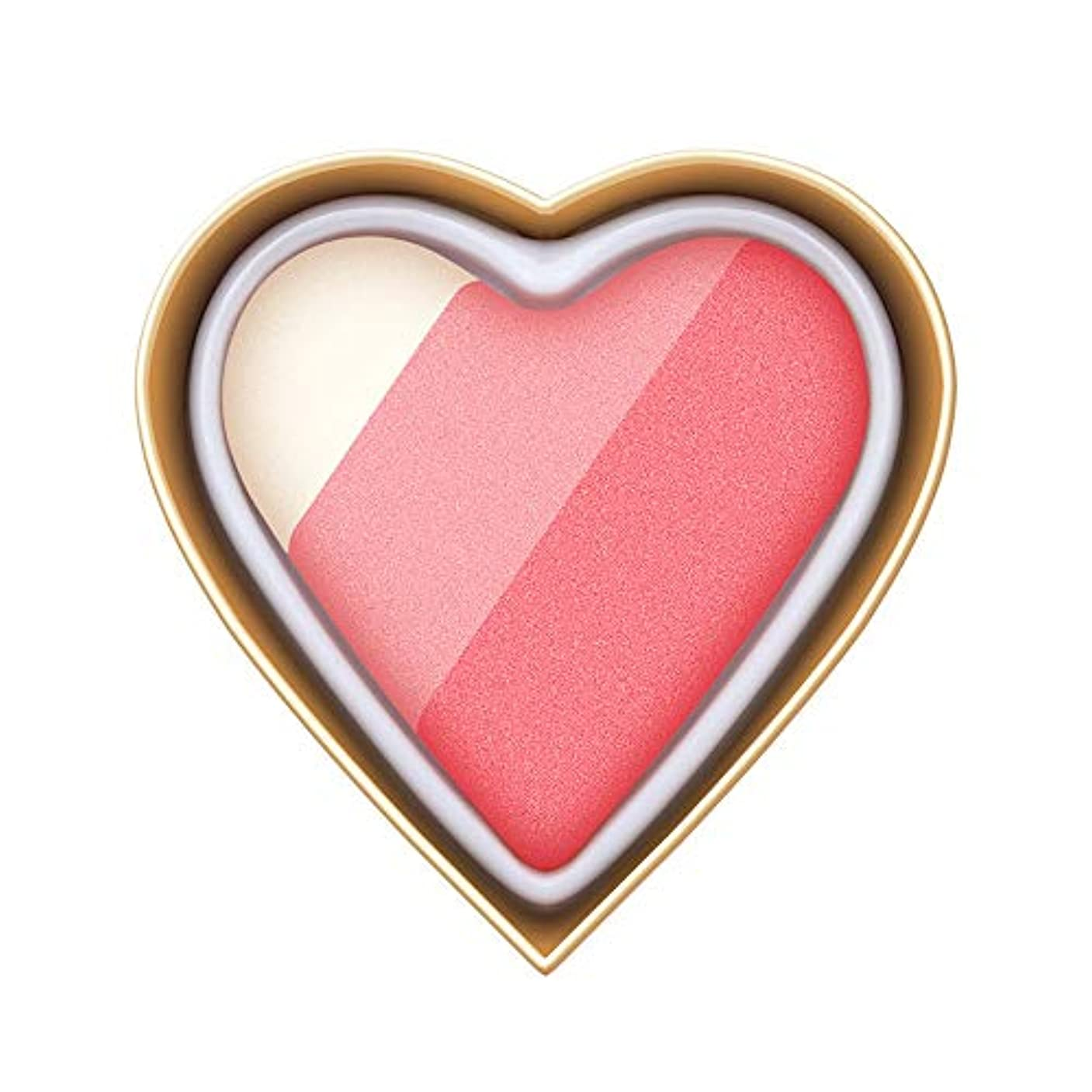 寸前ゆるく代理人Florrita 女性 ハート型 アイシャドー パレット 優しい色 レインボー色 愛の少女系 ハイライトパウダー アイシャドー 発色が素晴らしい アイシャドウパレット シャドー ブラッシュ 携帯便利 プレゼント (D)