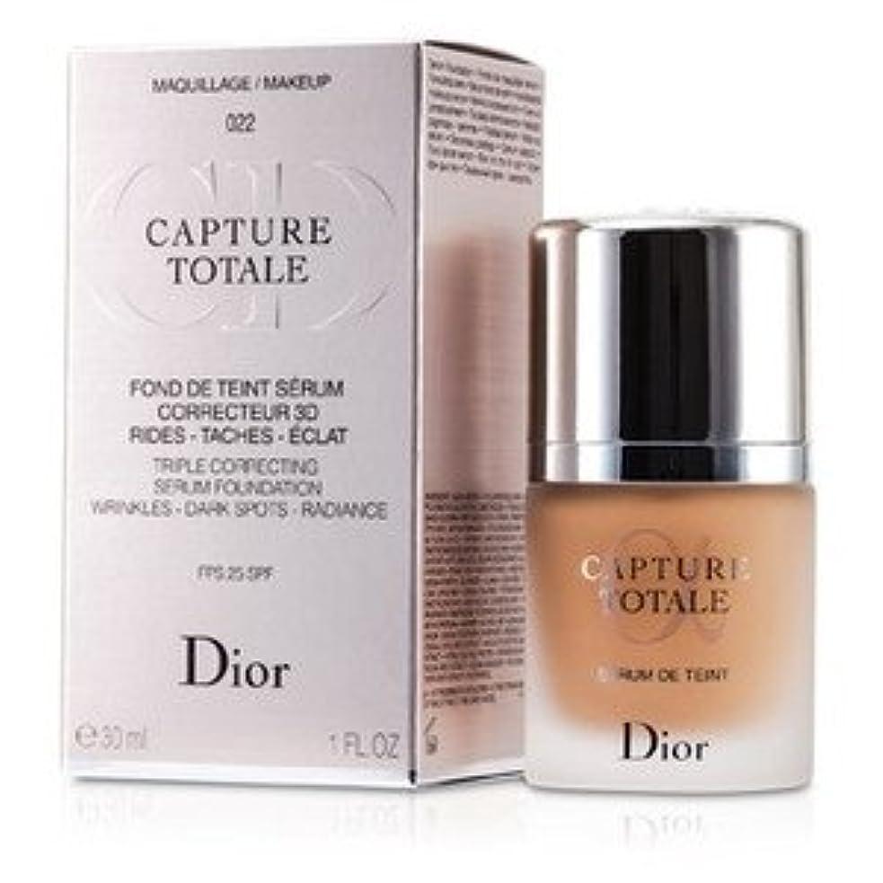 小間民主党懺悔Dior(ディオール) カプチュール トータル トリプル コレクティング セラム ファンデーション SPF25 - #022 カメオ 30ml/1oz [並行輸入品]