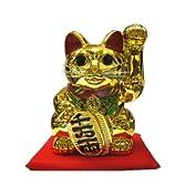 黄金小判招き猫10号