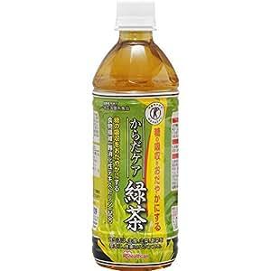 [トクホ] アイリスオーヤマ からだケア 緑茶 500ml×24本