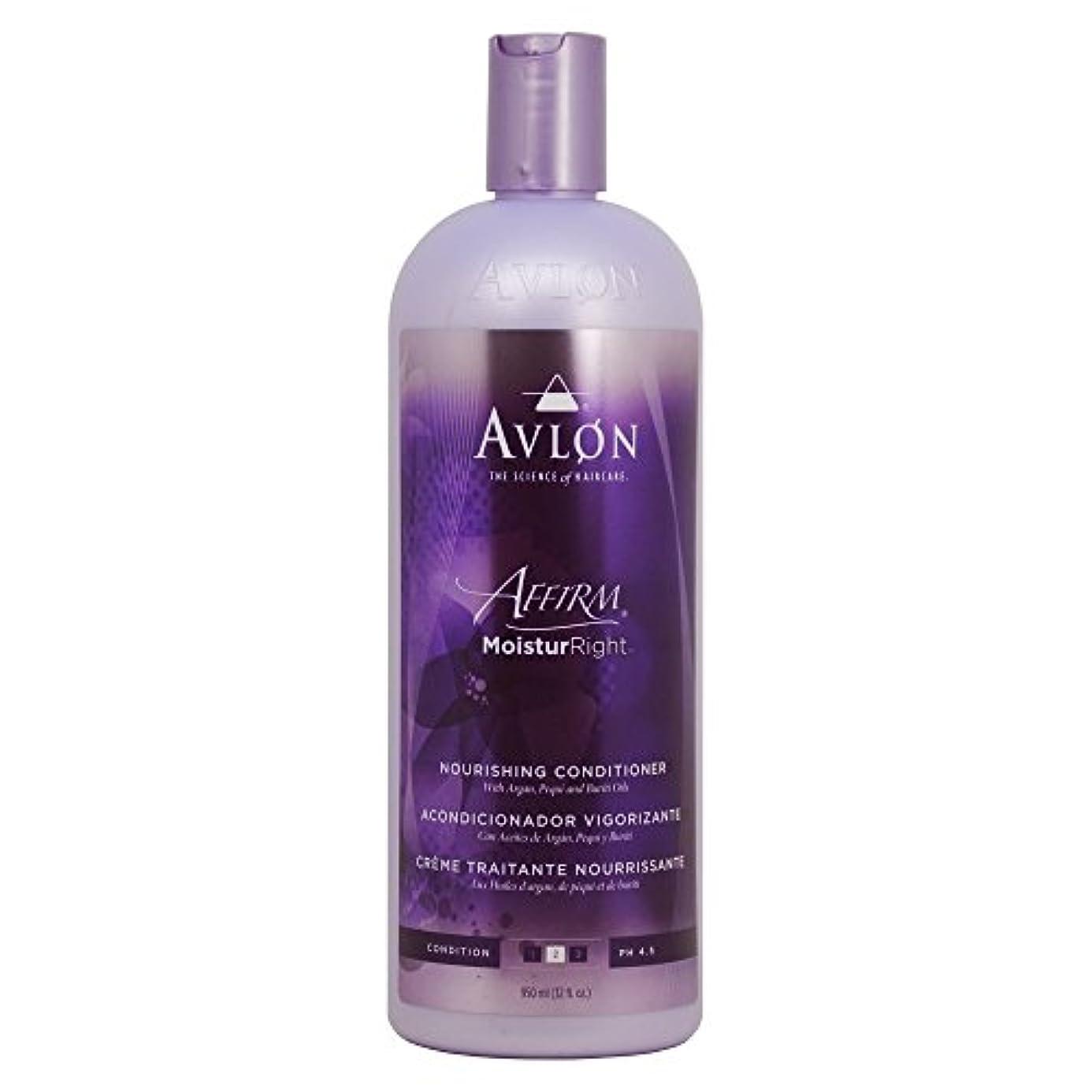 フォーマットさびた気味の悪いAvlon Hair Care moisturright 32オンスノーリッシングコンディショナー