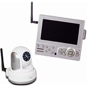 コロナ電業 Telstar ワイヤレスパンチルトカメラ&モニターセット 【ルームアイ2】 ROOMEYE2