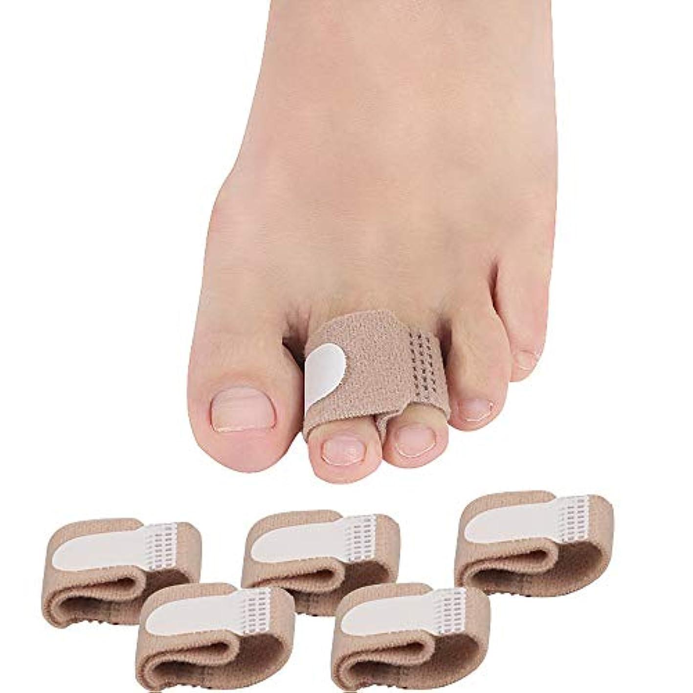 版間隔そのようなOnKJ足指矯正パッド 外反母趾 内反小趾 サポーター 足指矯正 指間保護 男女兼用(5点セット)