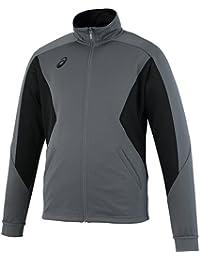 [アシックス] トレーニングジャケット カーボングレー EZT143 92