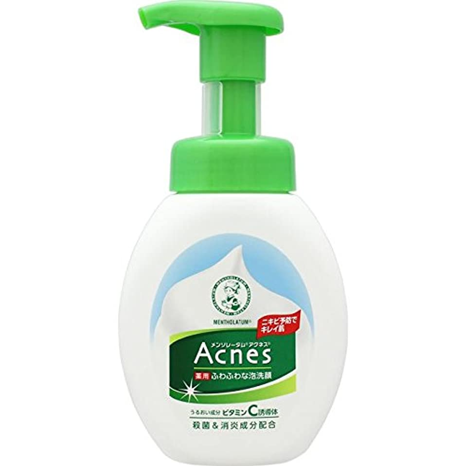 均等に歯科医ラップAcnes(アクネス) 薬用ふわふわな泡洗顔 160mL【医薬部外品】