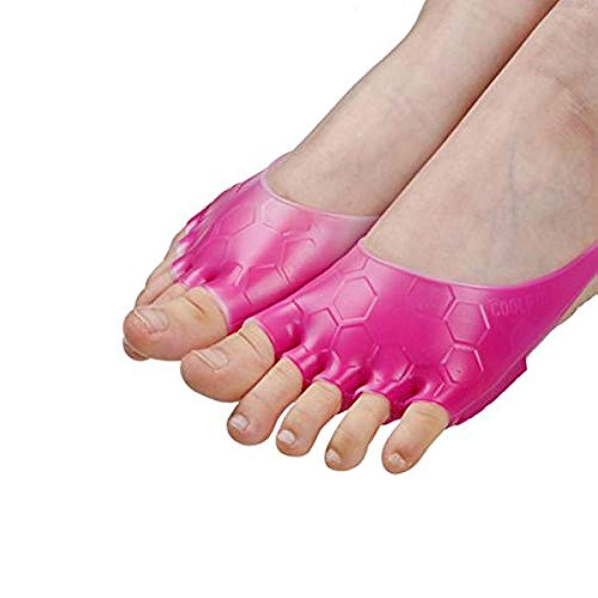 トンネルコットン直感足指 フットケア シリコンパッド 広げる エクササイズ 五本指 冷え性 むくみ ストレッチ 両足セット