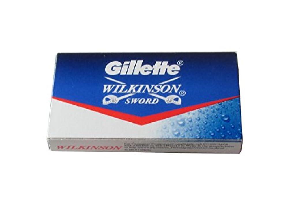 Wilkinson Sword (Indian) 両刃替刃 5枚入り(5枚入り1 個セット)【並行輸入品】