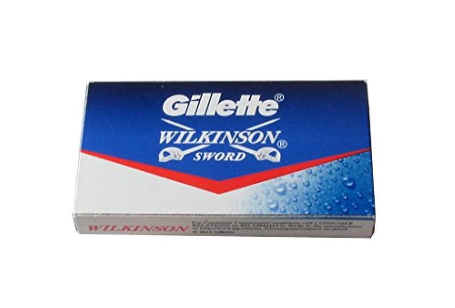 かどうか発生する普及Wilkinson Sword (Indian) 両刃替刃 5枚入り(5枚入り1 個セット)【並行輸入品】