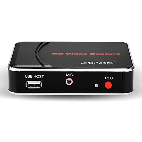 ゲームキャプチャー*ゲームレコーダー 1080p対応小型ビデ...