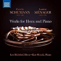 カミロ・シューマン:ホルンとピアノのための作品集
