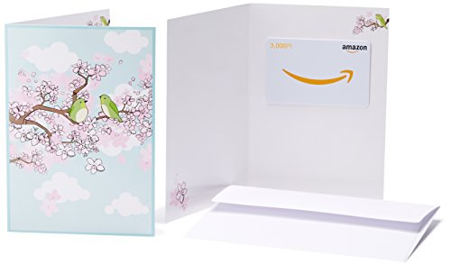 Amazonギフト券(グリーティングカードタイプ ) - 3,000円 (春)